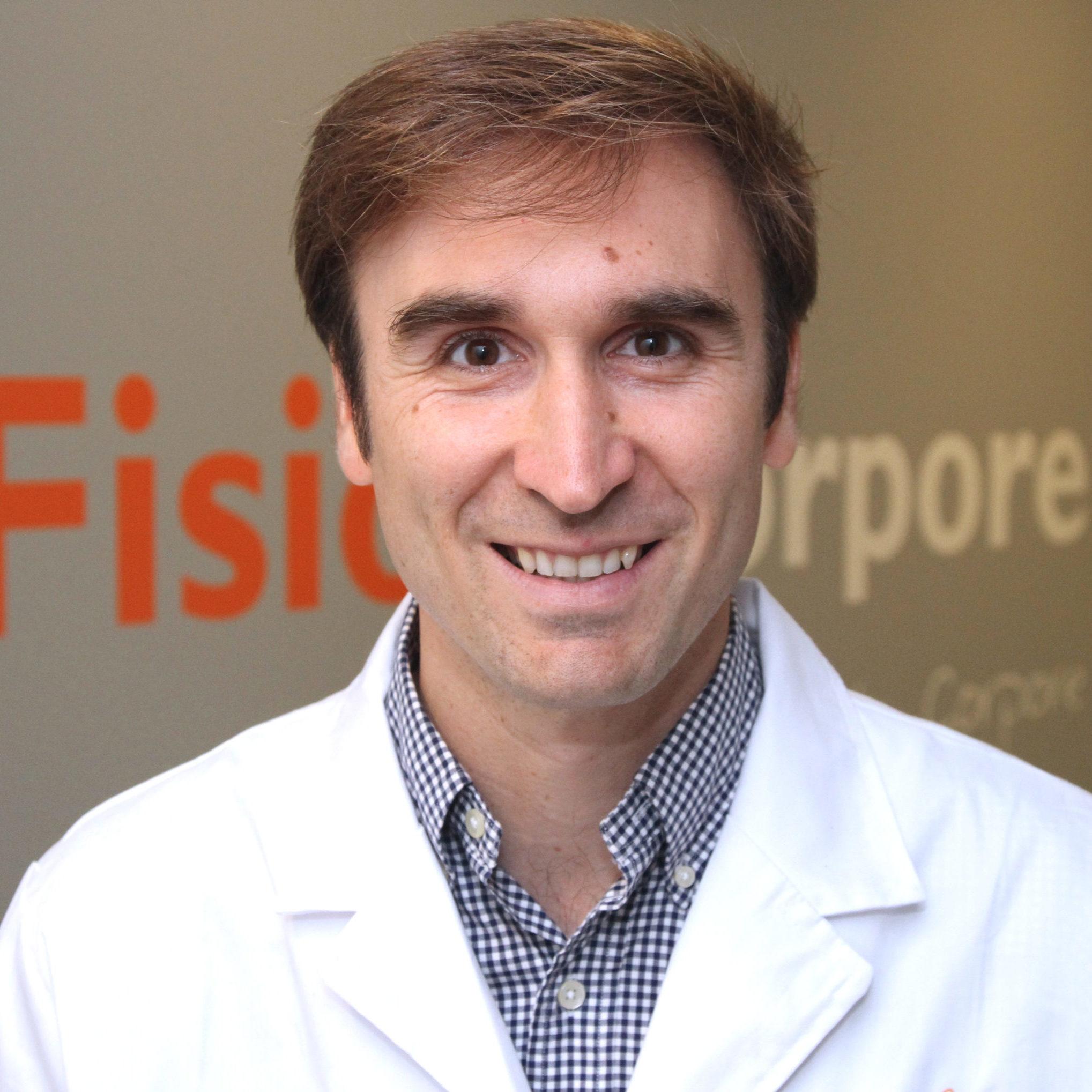 Borja Ruiz, traumatólogo en Fisioincorpore