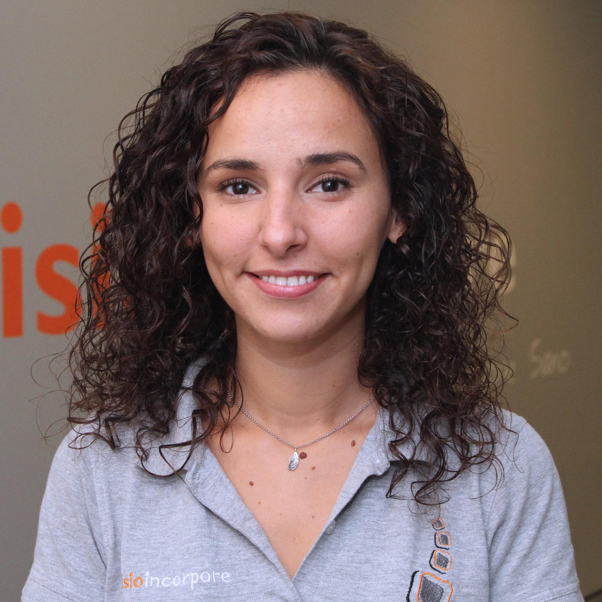 Cristina Pérez, nutricionista y fisioterapeuta en Fisioincorpore