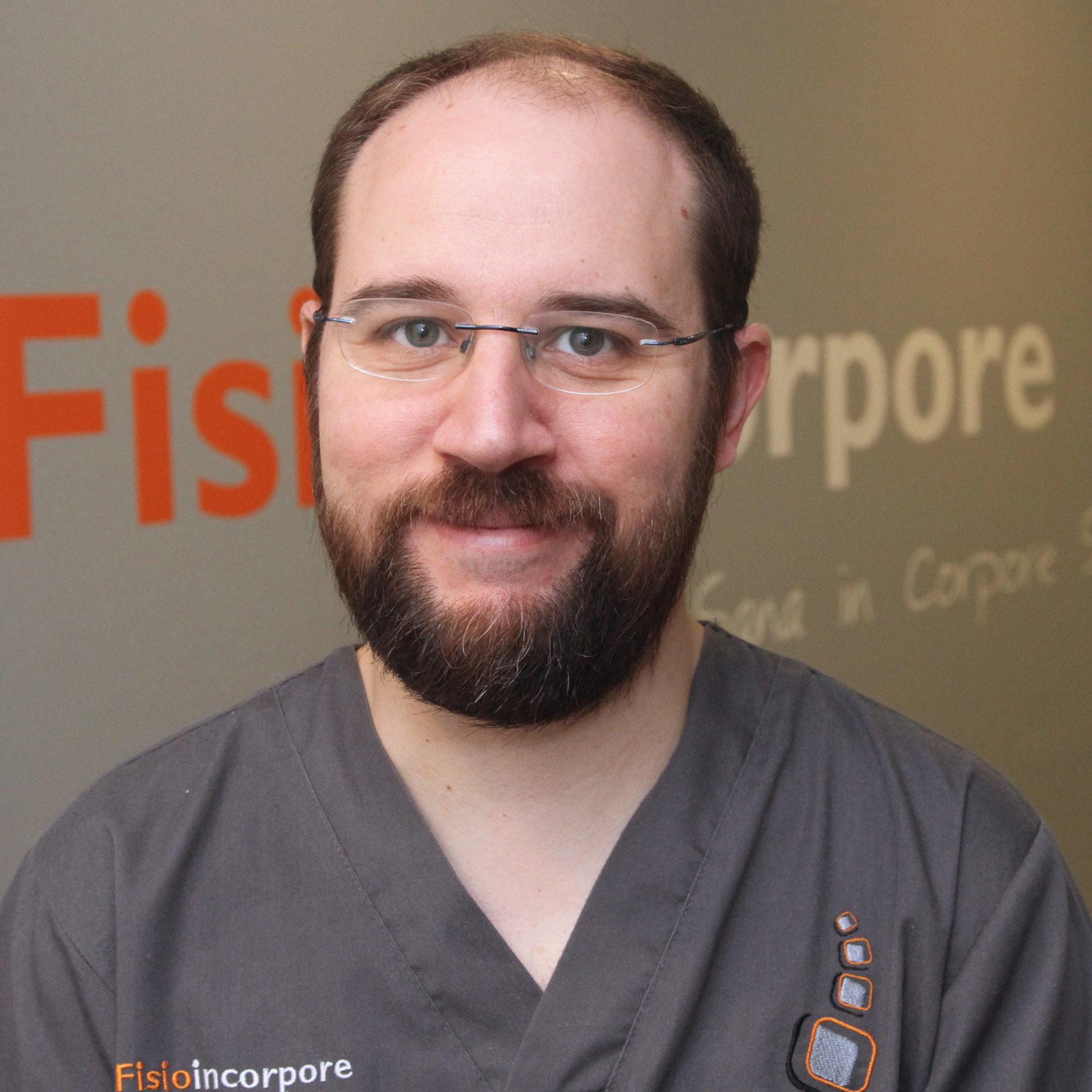 Ernesto Santos, podólogo en Fisioincorpore